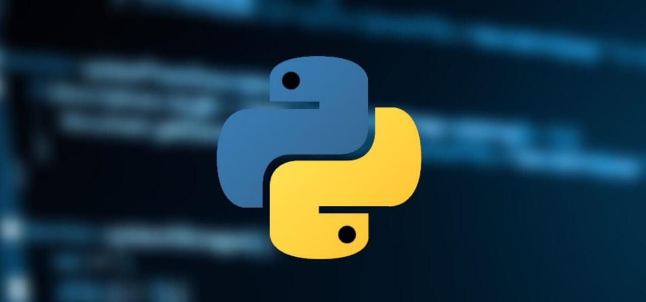 На фото изображен логотип Python.