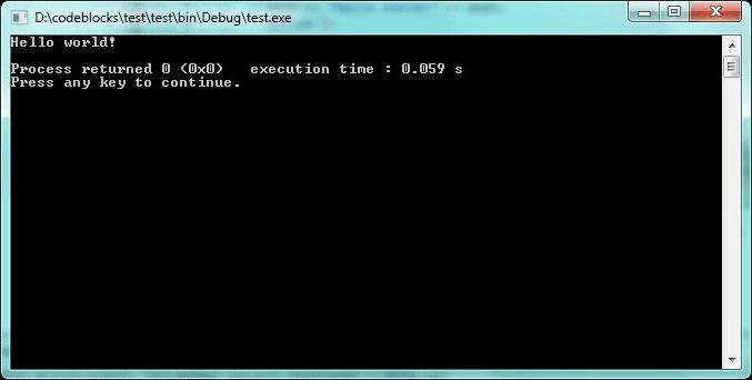 Установка и настройка Code::Blocks