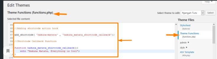 Как код PHP превратить в шорткод WordPress?